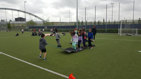 Extreem sportdag bovenbouw | Openbare Dalton Basisschool Waterland – Den Haag @AR56